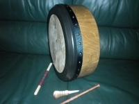 Light Oak Glenshesk 15 by 4 inch bodhran